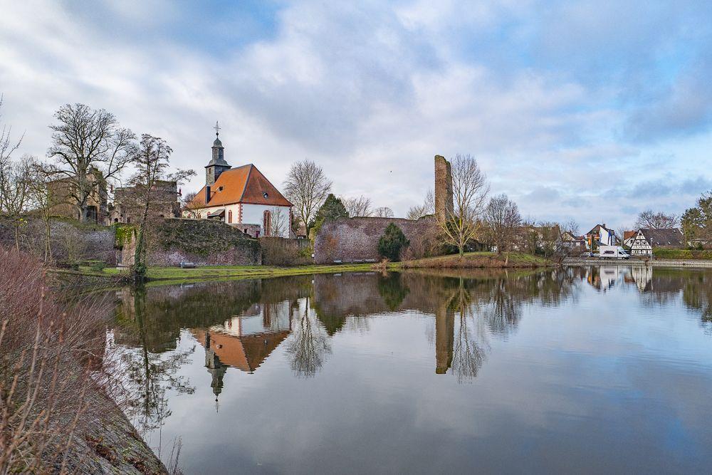 Burg Hayn 5 Minuten entfernt