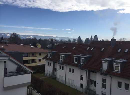 Helle 3-Zi.-Dachgeschoss-Maisonette-Whg m. Balkon (Bergsicht) u. Stellplatz in Lindau (B)