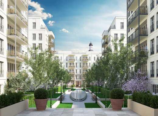 Andreas Quartier: Elegante Wohnung mit großem Wohn-Essbereich und Loggia in ruhiger Lage