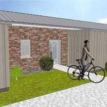 Top-Lage Neubau Ebenerdig Reihenmittelhaus mit