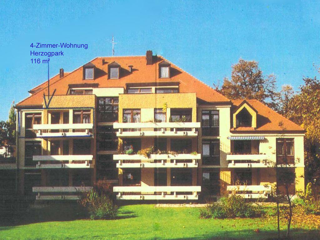 Herzogpark: 4-Zimmer Wohnung in ruhiger Bestlage