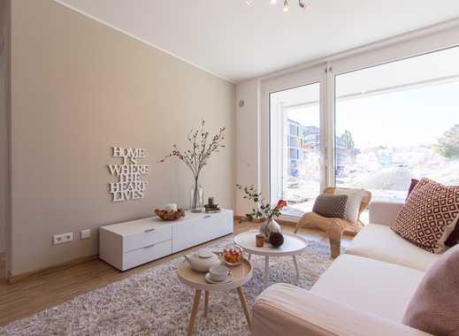 Attraktiv geschnittene 3-Zimmer Wohnung mit großer Terrasse und ca. 40 m² Wohn-/Ess-/Kochbereich