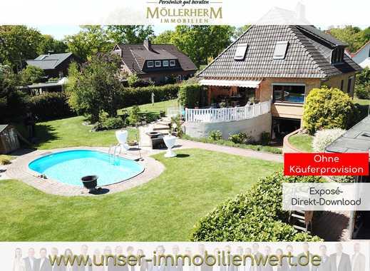 Ab ins Becken- Einfamilienhaus mit Pool und großem Garten in Beckedorf