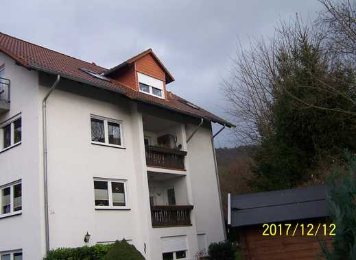 Günstige, gepflegte 2-Zimmer-DG-Wohnung mit Balkon und EBK in Harztor/ Ilfeld