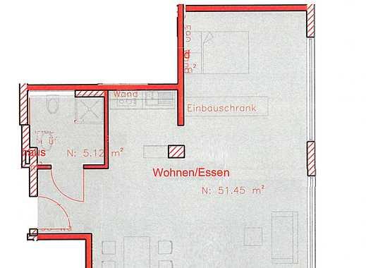 Wohnen direkt an der Wupper, 1-Zimmerappartment Erstbezug mit Einbauküche!
