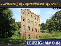 VORANKÜNDIGUNG 3-Raumwohnung in Gohlis Balkon