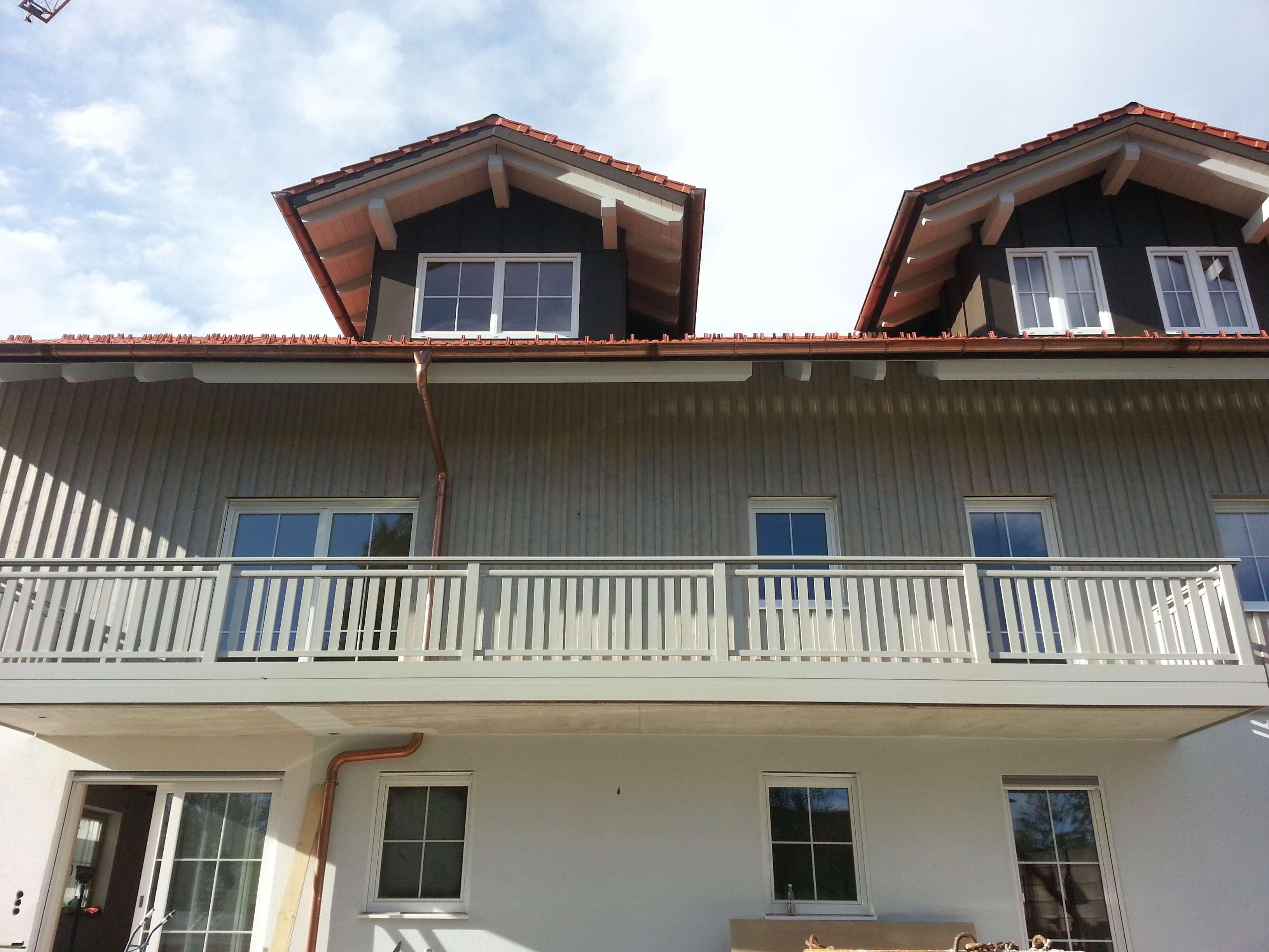 Erstbezug: ansprechende großzügig geschnittene 5-Zimmer-Wohnung mit Balkon in Wessobrunn