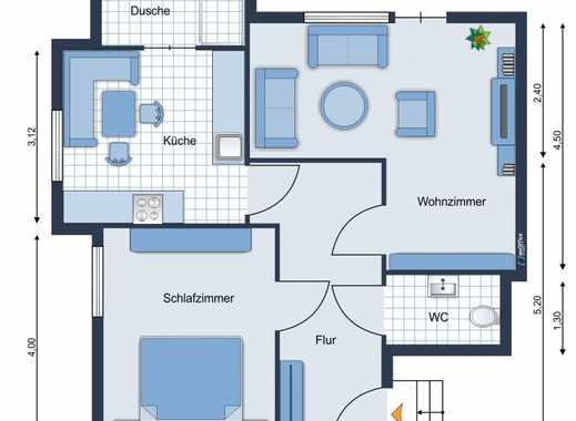 Junge Leute aufgepasst - Schöne 2 Raum Dachgeschoßwohnung im Zentrum von Saalfeld
