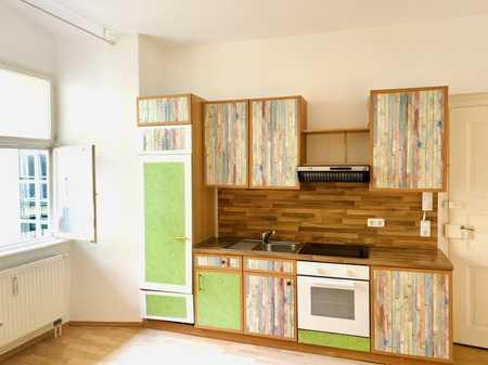 besonderes Schmuckstück im Denkmalschutzhaus im absoluten Zentrum  1,5-Zimmer-Wohnung in Augsburg-Innenstadt