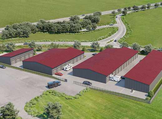 Halle Typ A (ca. 43,5 m²) in neuem XXL-Garagenpark