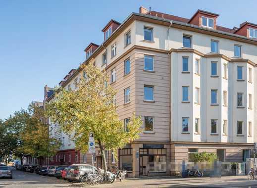 Zentrale 3-Zimmer Wohnung inkl. EBK und Balkon frei!