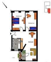Bild Helle 3-Zimmer Wohnung im Samariterkiez - Friedrichshain