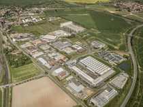 """Bild Gewerbe- und Industriegebiet """"Am Steinberge/ Martinsfeld"""" und """"Knorrenholz"""""""