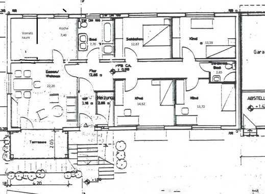 Gepflegte 5-Zimmer-Erdgeschosswohnung mit Balkon in Karben/ Petterweil