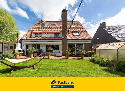 Freistehendes 3-Familienhaus mit Teich in attraktiver Wohnlage in  Angermund