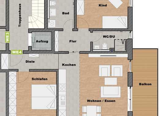3-Zimmer Wohnung mit 2 Bädern
