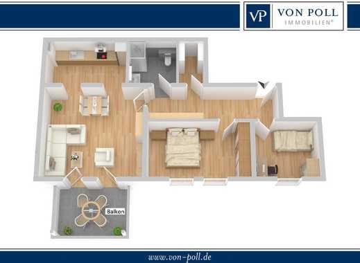 Moderne Wohnung mit Balkon im Quartier Süd