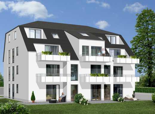 Nachmittagssonne inklusive = Neubau-Eigentumswohnung im EG mit Südterrasse, Garten und Aufzug