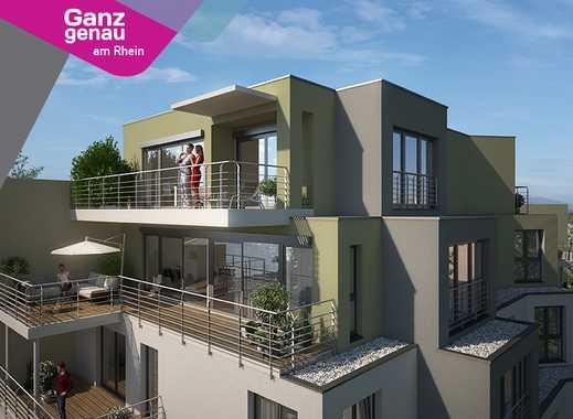 Großzügige 4 Zimmer Neubau-Wohnung mit direktem Rhein- und Domblick nahe der Bastei
