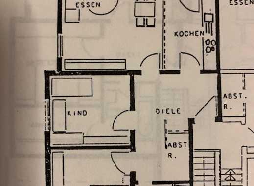 Schöne, helle 3ZKB-Wohnung im 1. OG in einem gepflegten und ruhigen 6-Parteienhaus