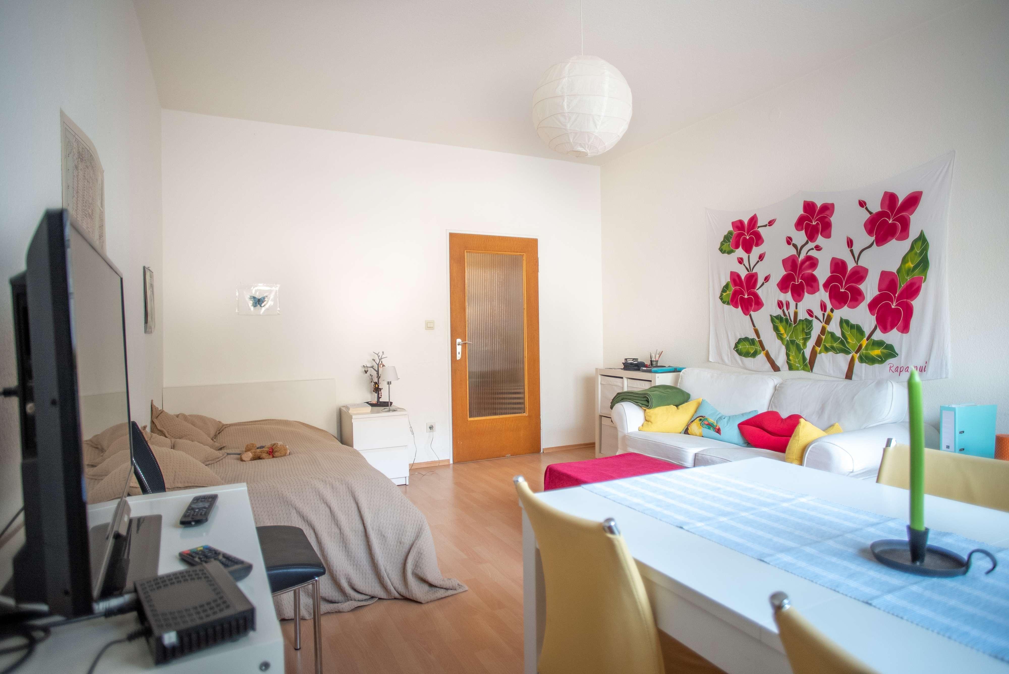 Möblierte 1-Zimmer Wohnung | Top Anbindung | mitten in der Stadt