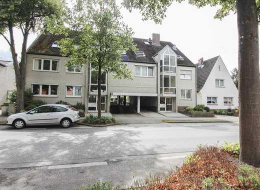 Wohnen am Liether Wald - Gepflegte Maisonette-Wohnung mit Loggia und TG-Stellplatz!