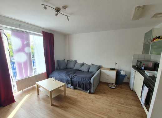 1-Zimmer-Wohnung mit Balkon und Einbauküche in Meerbusch Strümp
