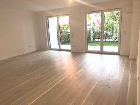 ERSTBEZUG! - moderne EG-Wohnung mit eigenem Garten in Nymphenburg in Neuhausen (München)