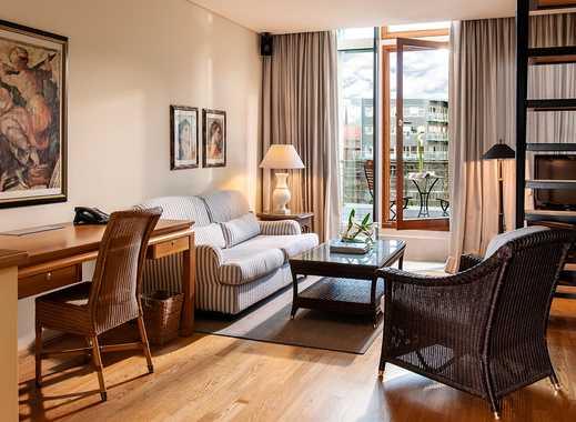 Maisonette Wohnung mit Balkon am Hamburger Michel
