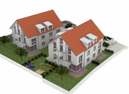 LEBENSGEFÜHL AM FUSSE DER WALHALLA - Neubauprojekt von zwei Mehrfamilienhäuser mit je 6 Wohnungen!