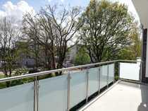 2-Zimmer-Neubau-Wohnung mit Fahrstuhl großem Balkon