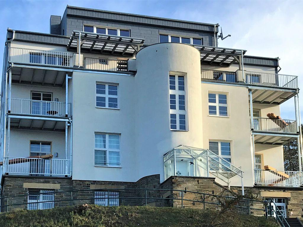 Ansicht SÜDWEST mit Balkonen