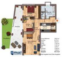 3-Zimmer Komfortwohnung