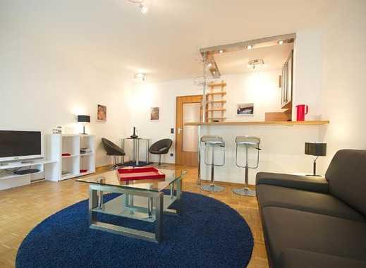 Essen, Nähe Philharmonie: Möblierte Wohnung mit Komplettausstattung, Internet und TG-Stellplatz m...