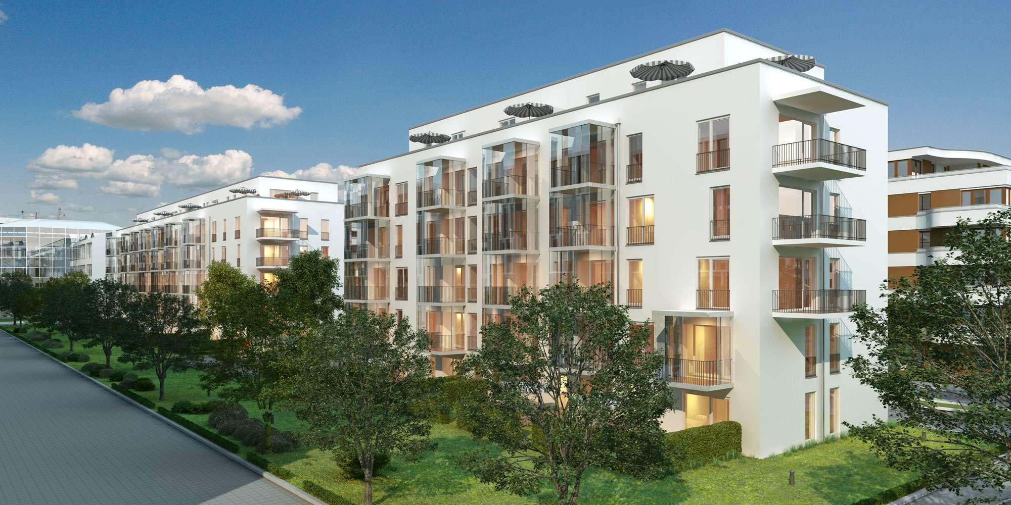 Moderne 3 Zi. Etagenwohnung mit 2 Balkonen in Schwabinger Neubaugebiet - Hans-Döllgast-Str. 6