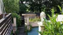 Bild vermiete Zimmer im Haus mit Gartennutzung, mit Blick aufs Tegler Fließ