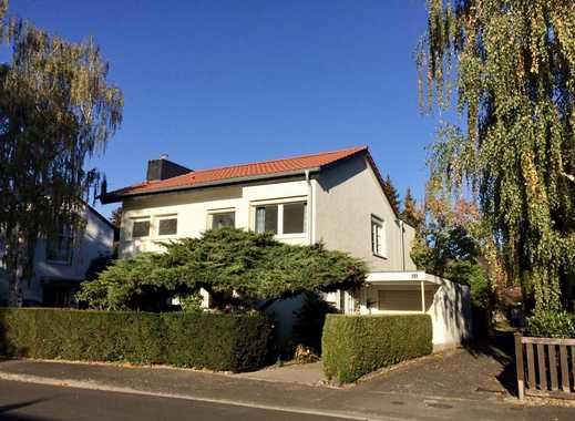 Wunderschönes, freistehendes Einfamilienhaus mit Kamin und großem Garten in Rheinauennähe
