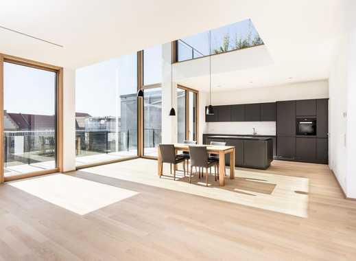 Luxuriös und lichtdurchflutet: Wohnen im exklusiven Penthouse des Neubaus THE YARD