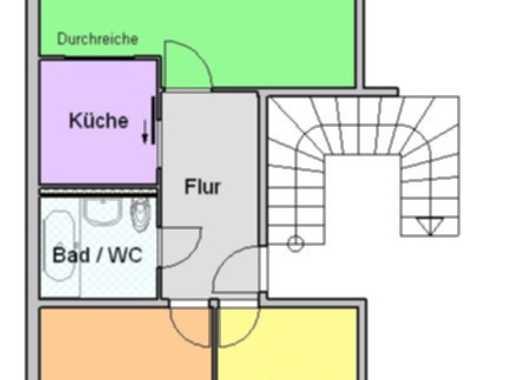 3-Raum-Wohnung mit Balkon und Aufzug zum selbst renovieren!