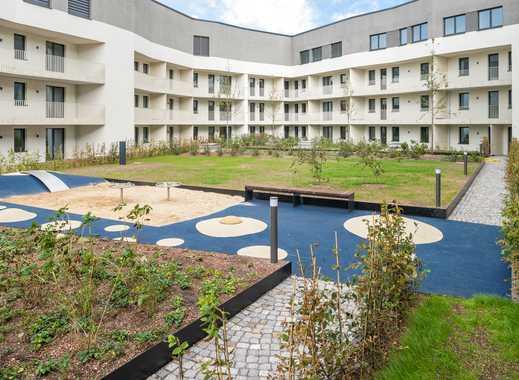 Entspannt Wohnen mitten im historischen Zentrum: Moderne 2-Zimmer-Wohnung mit Terrasse zum Innenhof