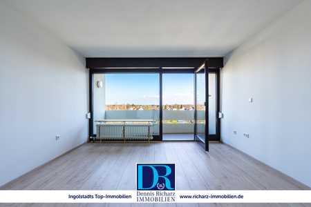 Neu renovierte 1-Zimmer-Wohnung mit Blick über Ingolstadt inkl. EBK! in Südwest (Ingolstadt)