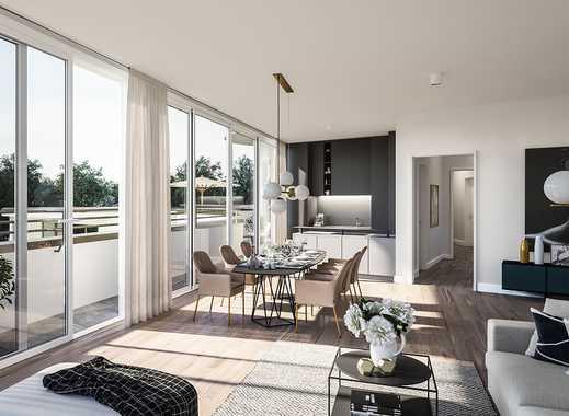 Die besondere Art zum Wohnen! Penthouse mit ca. 61 m² umlaufender Dachterrasse in toller Umgebung