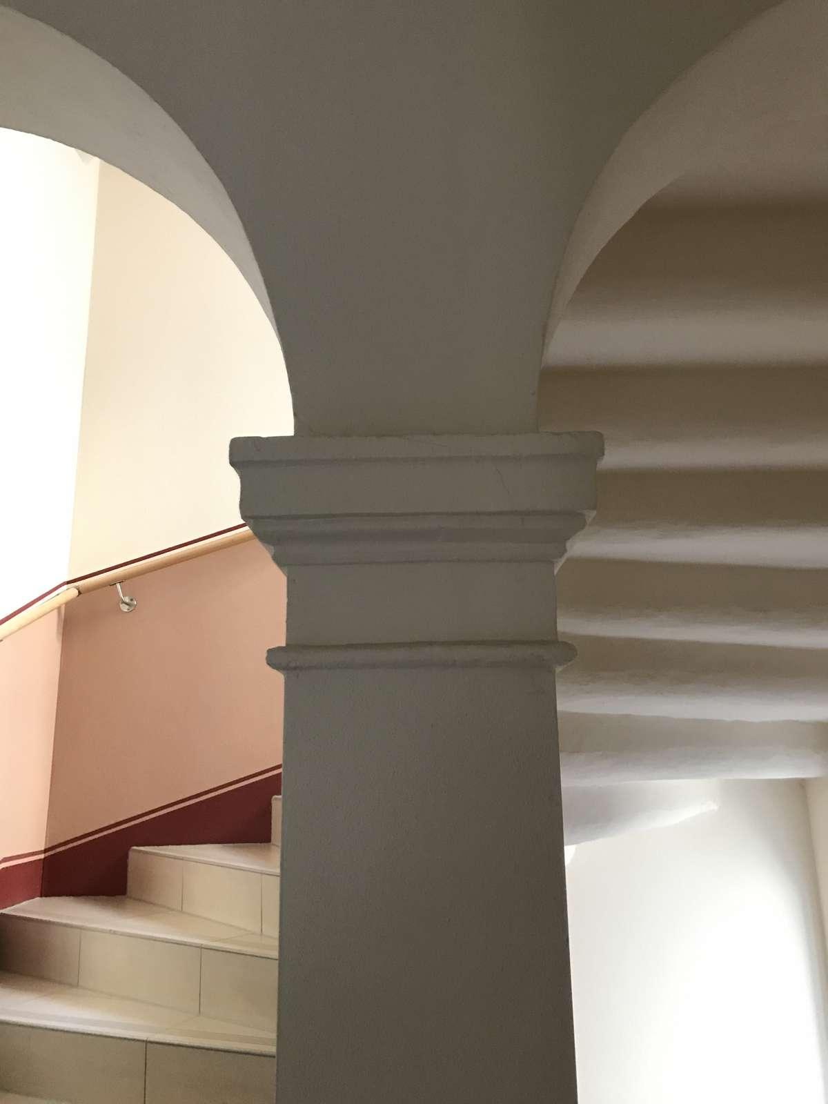 Detail im Treppenhaus
