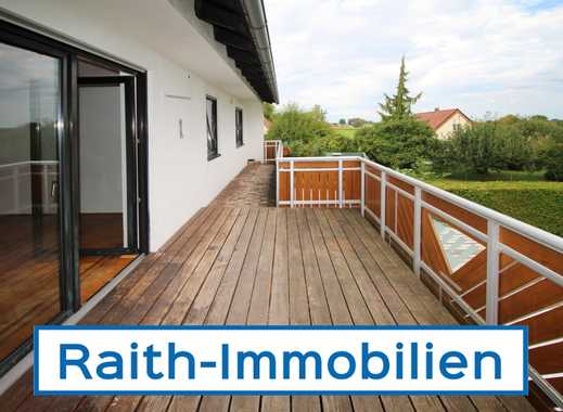 Tapfheim: 4-Zimmerwohnung mit großem Balkon