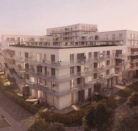 Erstbezug: exklusive 2-Zimmer-Dachterrassenwohnung mit Alpenpanorama in Aubing (München)