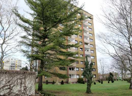 Großes, renoviertes 1 - Zi. Appartement mit Balkon, Aufzug, herrlicher Ausblick
