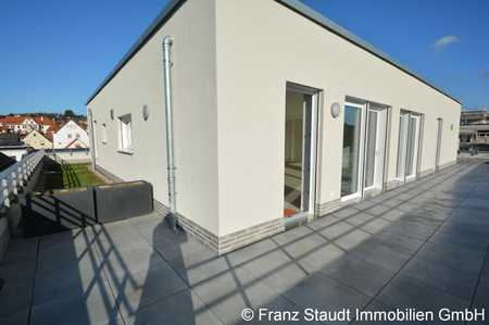 Erstbezug: Exklusive Penthouse-Wohnung in Goldbach mit großer Dachterrasse in Goldbach (Aschaffenburg)