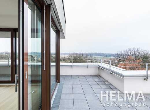 Hervorragende 4-Zimmer-Penthouse-Wohnung mit großer Dachterrasse über Berlin