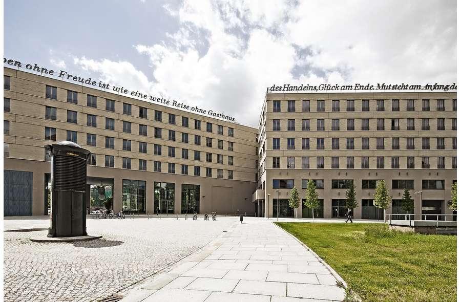 Zwinger-Forum Nordansicht