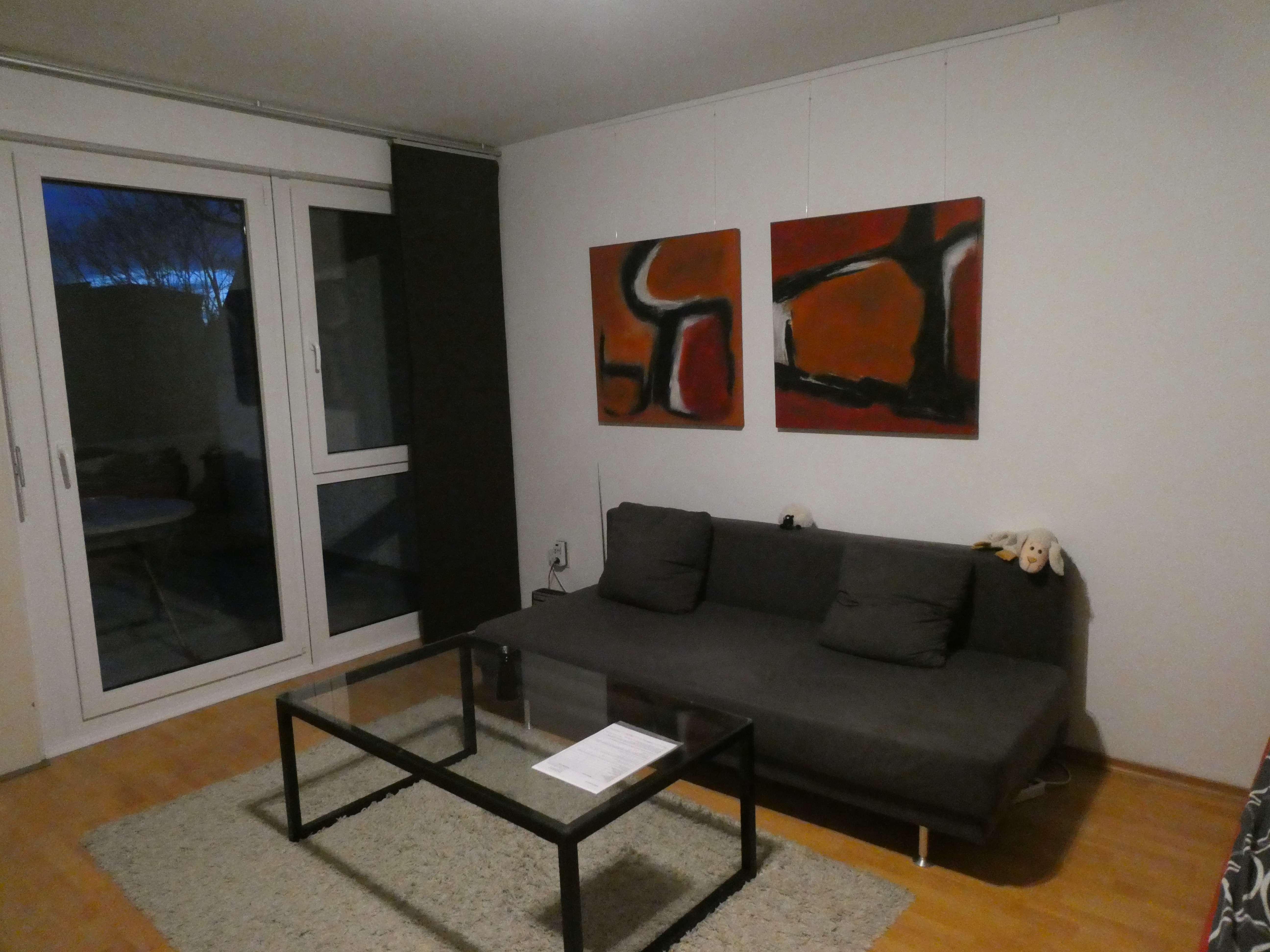 Gepflegte 1-Zimmer-Hochparterre-Wohnung mit Balkon und EBK in Starnberg/Söcking in Starnberg (Starnberg)